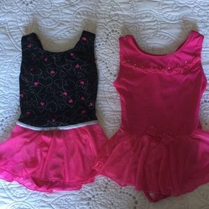 Other - Girls Dance Leotards Size 4/5